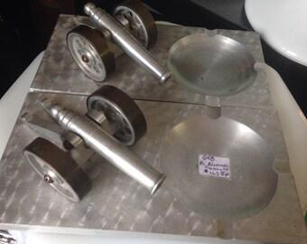 Pair Of Aluminum Cannons