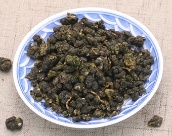 Premium Taiwan Milk Oolong Tea Second Grade, High Mountain Oolong Tea Alishan Tea