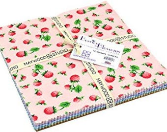 """Berries & Blossoms 10"""" Squares Layer Cake from Maywood by the pack"""