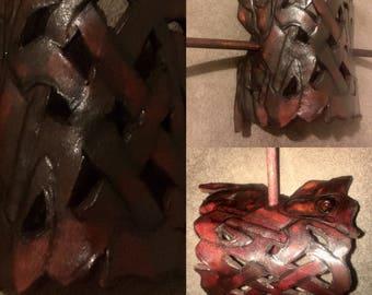 ponytail Holders (leather) celtic, steampunk,etc