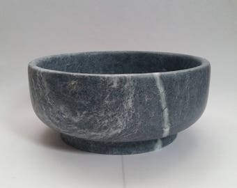Soapstone Soup Bowl