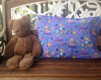 Disneys Alice in Wonderland* Toddler and Standard Size Pillowcases Available *Perfect Gift