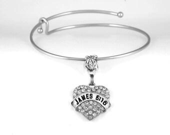 James 5:16 Bracelet Bible Scripture Confess Sins Religious Disciples Holy Church Jesus European Style Bracelet Bangle Bracelet