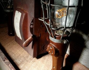 Vintage Trouble Light Desk Lamp