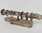 Industrial Driftwood Bracelet Holder