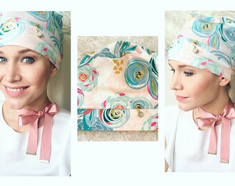 April Showers Bring May Flowers Chemotherapy Hat