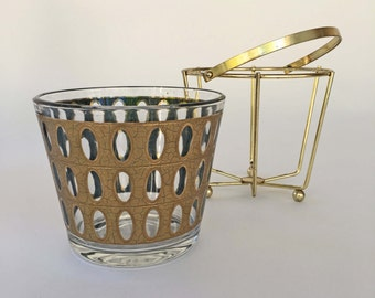 Culver Pisa ice bucket with wire basket