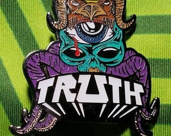 Truth - Deep Dark  Limited Edition Hat Pin X/100