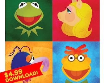 Portrait of a Muppet