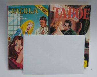 **18+ Mature Content** Vintage erotic comic books Jacula Taboe