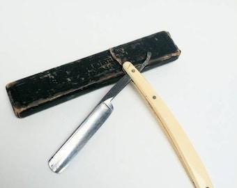 Solingen Goldfinch straight razor