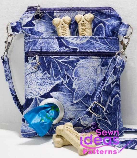 Items Similar To Slim Cross Body Dog Walking Bag Pdf