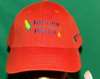 Tall Corn Ethanol Hat, Brown Companies, Embroidered Cool Vintage baseball cap, hat, LOW SHIPPING