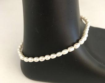 Freshwater pearl bracelet, potato pearl bracelet, pearl bracelet, bracelet pearl
