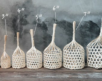 7 size of Thai Handmade Bamboo Basket /Made to order/Pick the size