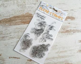 """Clear stamps """"unique"""""""