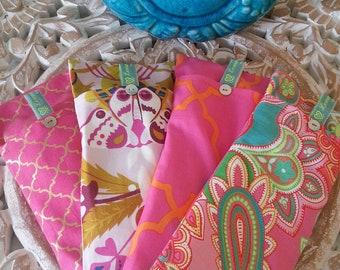 Soothing Lavender Eye Pillows - Pinks