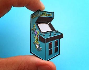 "D'ohnut Arcade 2.25"" Simpsons Enamel Pin"