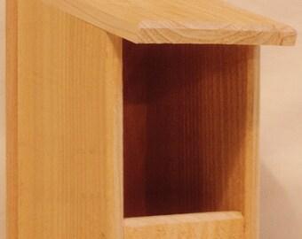 Cedar Nesting Box