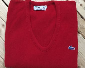 Izod LaCoste V-neck Sweater