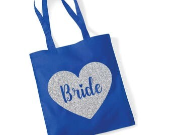 Bride/bridesmaid/maid of honor/ mother of the bride/ flower girl Tote Bag - Wedding Gift Bag/ Hen Do Party Bag