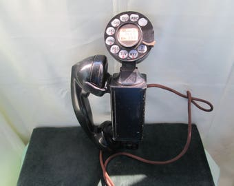 Vintage  Western Bell Space Saver Rotary Dial Telephone