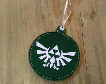 Zelda Triforce Ornament