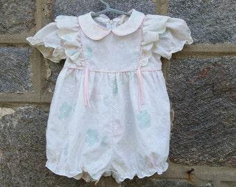 Vintage Baby Girls Romper, Jumper 14 months