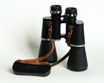 Vintage binoculars HANDY LOOK 10 X 50 Panorama Gla 8 quality Switzerland numbered hiking observation mid-century 1970 collection