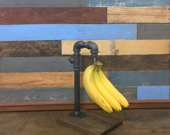 Industrial Banana Hanger, Banana Holder, Banana Rack, Fruit Holder, Industrial Decor, Kitchen Storage, Steampunk, Fruit Storage
