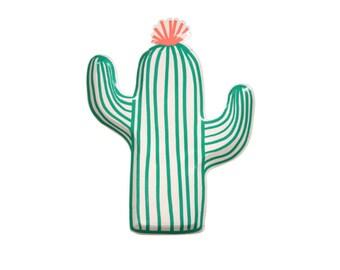 Cactus Plate  l  Meri Meri Plates  l  Cactus Paper Plates  l  Summer Party Plates  l  Cactus Partyware  l  Paper Plates l Cactus Party Decor