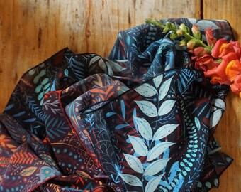 FLORA chiffon scarves