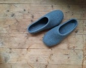 PDF pattern for Felted wool slippers