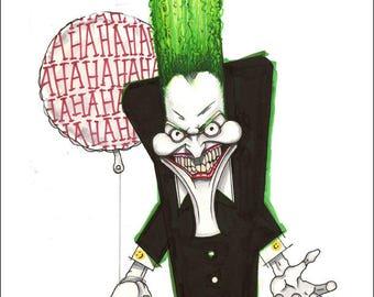 "Joker Print by Kevin L. Kuder - 8.5""x11"""