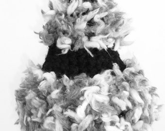 Black and White Party Hat