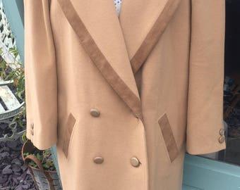 Women's vintage Mansfield wool coat (UK 14)
