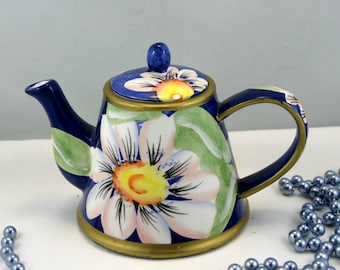 Lovely,Beautiful, Decorative,  Porcelain Small  Teapot.
