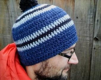 Warm Wool Blend Beanie Hat