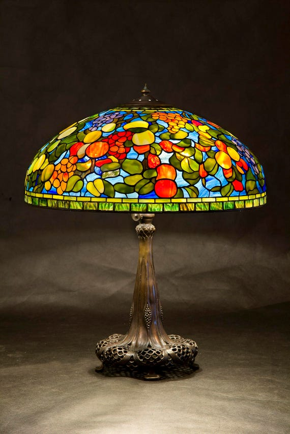 Tiffany Fruit lamp