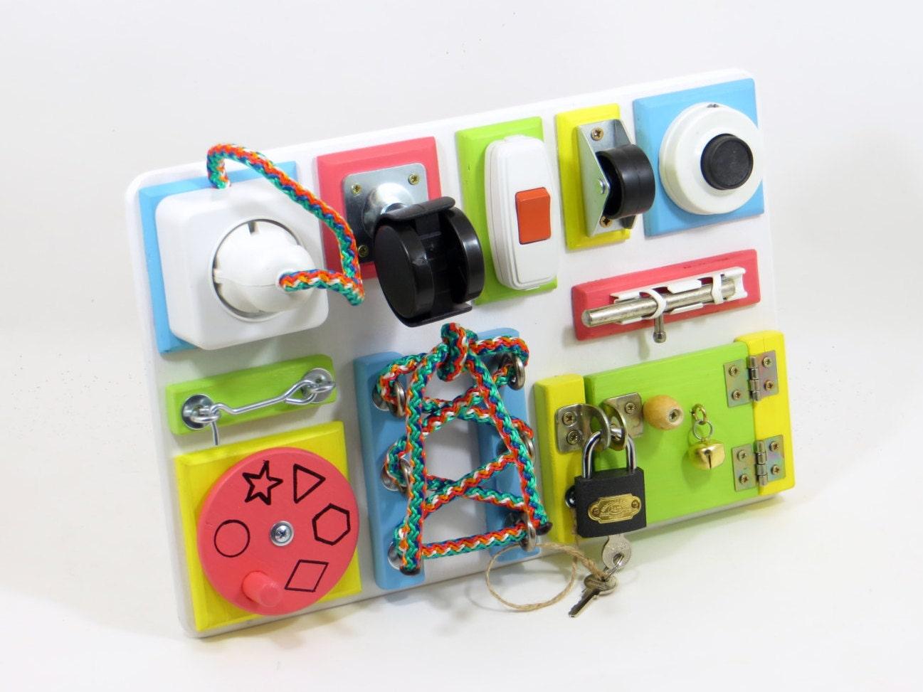 Pre School Toys : Busy board toddler preschool toy montessori by linearahandmade