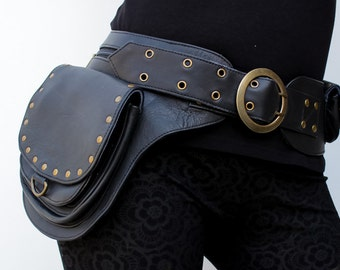 ISHTAR Leather Utility Hip Belt
