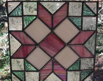 Stained Glass Wedding Bouquet Quilt,Stained Glass Quilt Pattern