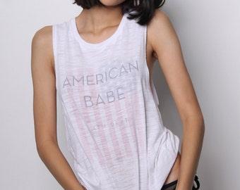 4th of July Tank Top, 4th of July Shirt Womens, America Shirt Womens, USA Tshirt, Patriotic Shirt, Stars and Stripes Shirt