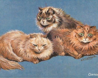 Louis Wain, Cat Drawing, Louis Cat, Louis Drawing, Cat Louis, Wain Louis, Wain Cat, Louis Wain Art, Louis Wain Cats, Cat Art, Cat Decor