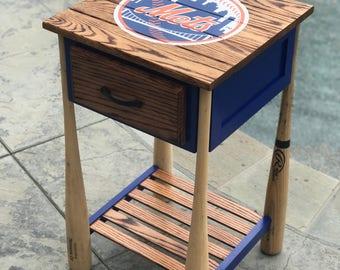 Baseball Nightstand