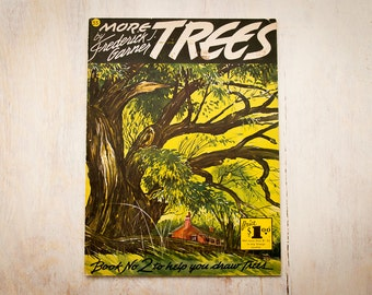 How To Draw TREES Book 2 by Fredrick J. Garner (c.1960's) Vintage Art Book / Gift