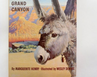 Brighty of the Grand Canyon by Marguerite Henry/ Vintage Paperback Book