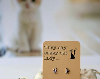 They say crazy cat lady like it's a bad thing!