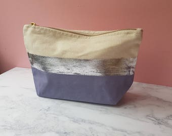 Make up bag - lilac