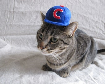 Baseball Cap Hat For Cats